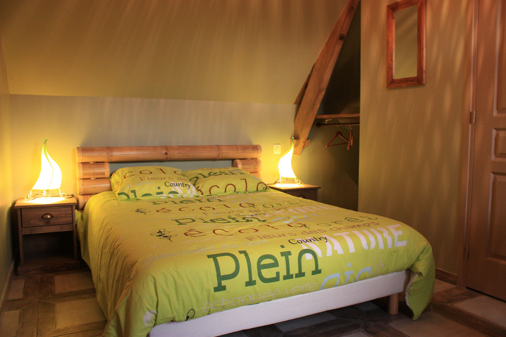 Interesting la chambre nature with decoration chambre nature for Chambre design nature